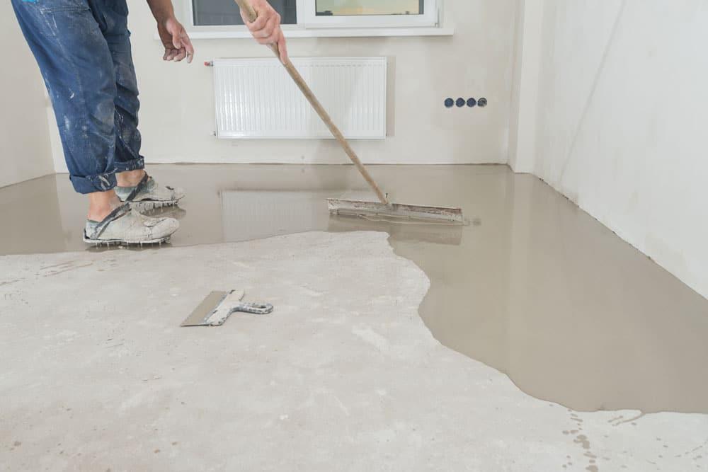 plancher en beton