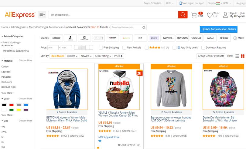 Comment trouver les produits en vogue sur les plateformes de ventes chinoises?