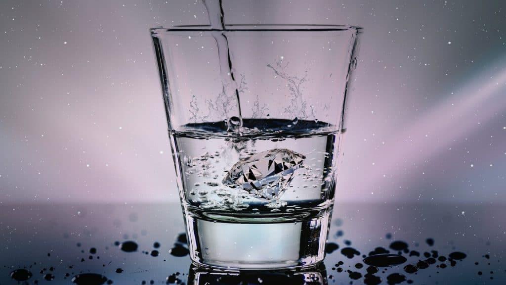 L'eau est une source de calcium