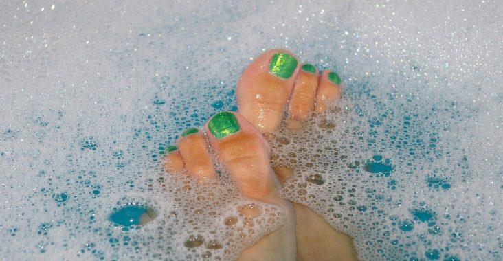 avantages bain pieds
