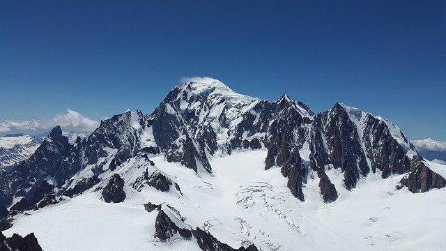 survol mont blanc